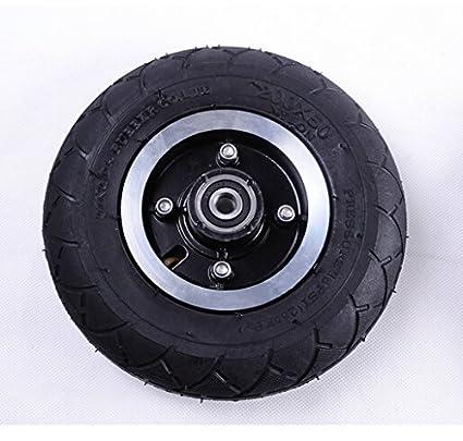 Neumático eléctrico de la vespa de los 200MM con el neumático neumático de la rueda de la aleación de aluminio del vehículo eléctrico de la inflación ...