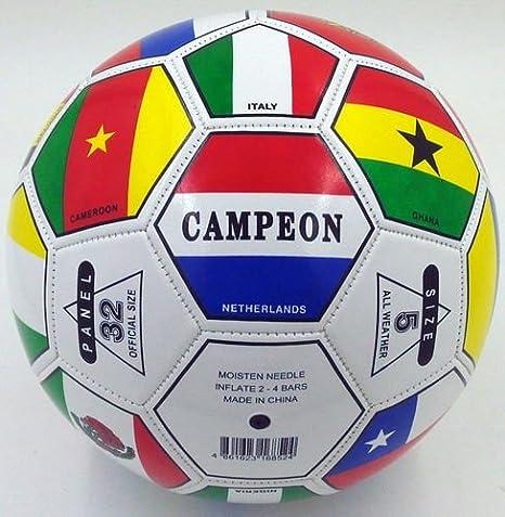 Campeon Mundial de la FIFA país Internacional Banderas Futbol ...