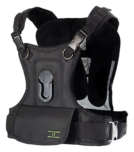 Cotton Carrier 635RTL Camera Vest for 1 Camera, Black by Cotton Carrier
