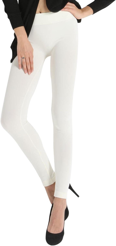 SENSI Leggings Donna Vita Bassa Microfibra Traspirante Senza Cuciture Seamless Made in Italy