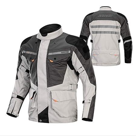 Ddl Impermeable Motocicleta Jacke CE Blindados Pantalones ...