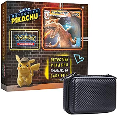 Amazon Com Pokemon Tcg Detective Pikachu Charizard Gx Case File