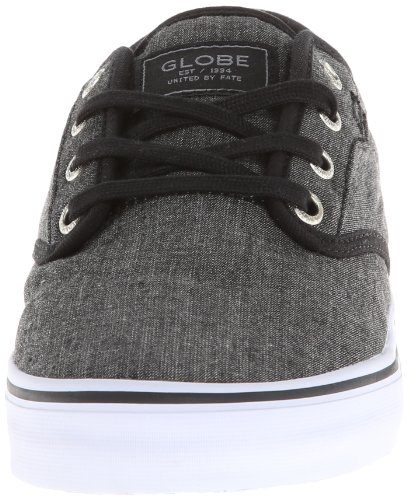 Shoe Globe Chambray Motley Mens Black Globe Skate Mens vPTgW