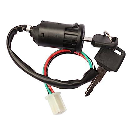 Pleasant Amazon Com Ttnight Motorcycle Ignition Switch Key Universal Wiring 101 Akebretraxxcnl