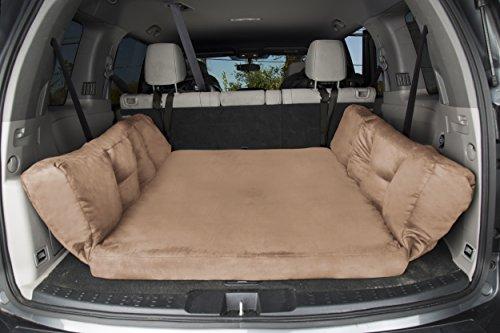 Image of Backseat Barker: SUV Edition (Orthopedic Shock-Absorbing Big Barker Dog Bed for Back of Sport Utility Vehicles)