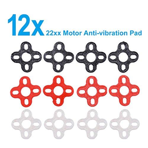 3 Sets 2205 Brushless Motors Soft Mount Vibration Dampener Drone Motor Guard Landing (Shock Mount Spacers)