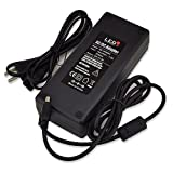 LEDwholesalers 24 Volt AC Power Adapter 144 Watt 6 Amp with 5mm DC Output Jack, 3261-24V