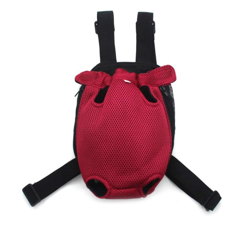 Aspicture MMISSKERVINFENDRIYUN Cat Dog Bag Dog Backpack Shoulder Cat Bag Chest Bag Pet Backpack Out Portable Pet Backpack (color, Size   M)