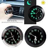 Zippem Car Thermometer Clock Car Electronic Watch Quartz High and Low Temperature Clock