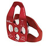 GM CLIMBING 32kN Large Rescue Pulley Single/Double