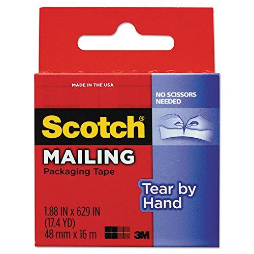 Scotch Tear Hand Packaging Clear