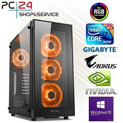 PC24 - PC para Gaming, procesador Intel I7 - 4790 K @ 4 x 4 ...