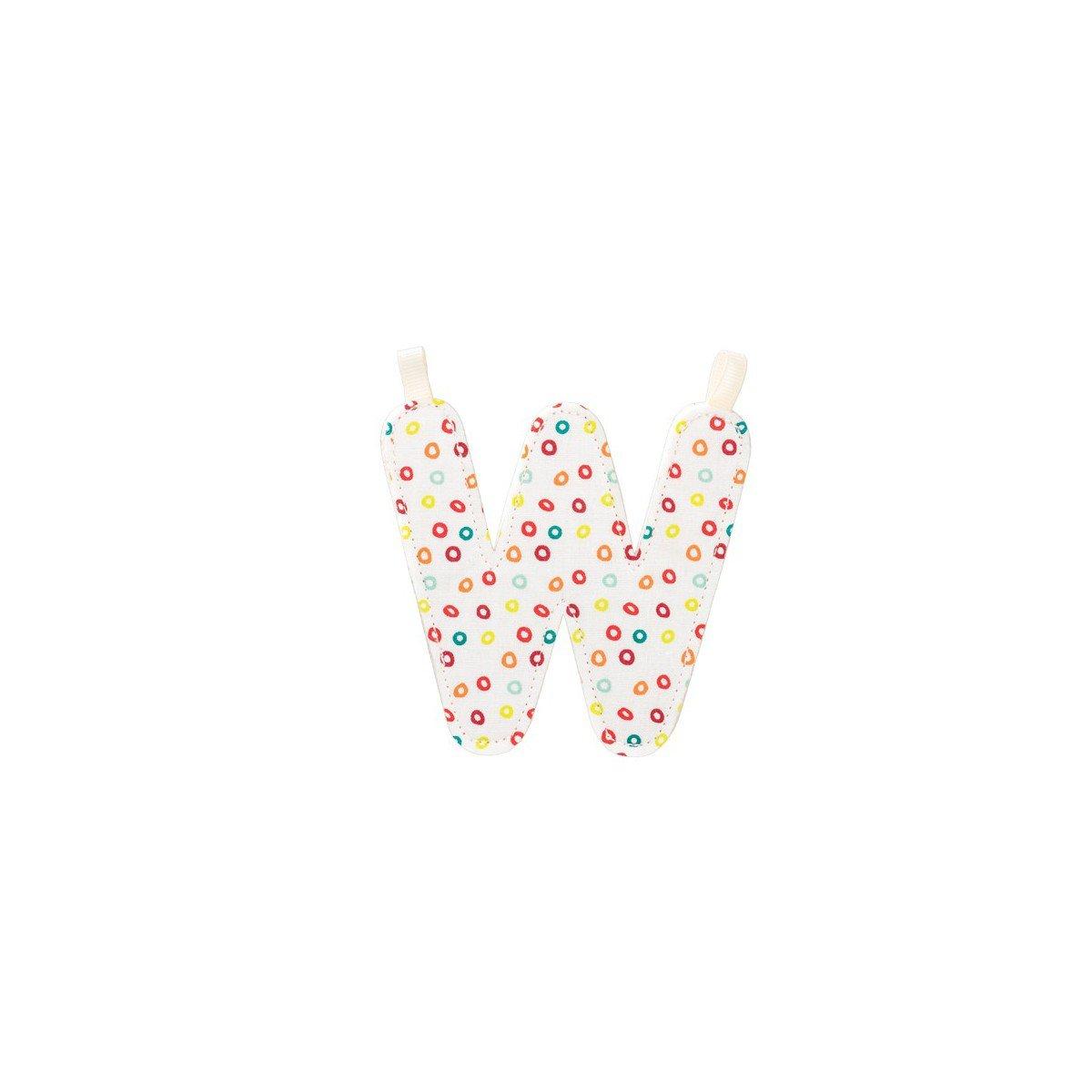 Lettre de l'alphabet décorative W - Lilliputiens