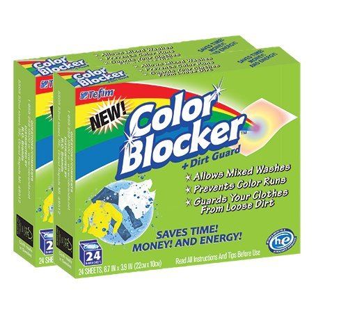 Color Blocker Dye-trapping, In-wash Cloths - 24 Each
