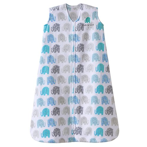 Halo Micro-Fleece Sleepsack - Elephant Texture - Medium