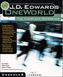 Amazon com: JD Edwards EnterpriseOne, The Complete Reference