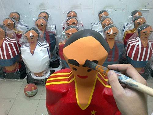 Atlético de Madrid escultura muñeco futbolin gigante: Amazon.es ...