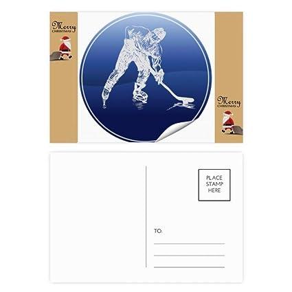 20 tarjetas de agradecimiento con diseño de Papá Noel y ...