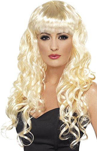 Siren Wig Costume Accessory (Brown Wig Siren)