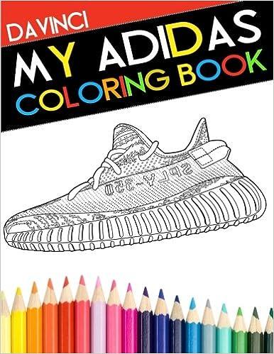 My Adidas Coloring Book: Davinci: 9780998683126: Amazon.com: Books