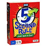 5 Second Rule Just Spit it Out Board Game Board Games English Edition Funny ...