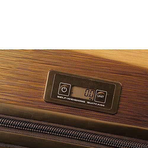 Numinous London Smart Executive 24' Hardside Spinner, Gold Brush
