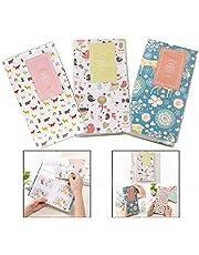 Xrten 3 Pezzi Mini Album per Foto,Mini Album Portafoto Carte Portafoto per Istantanea Fujifilm Instax
