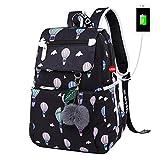 Kalakk Emoji School Student Women Backpack Cute Girl Cartoon Best Laptop Backpacks Female School Bag Bagpack
