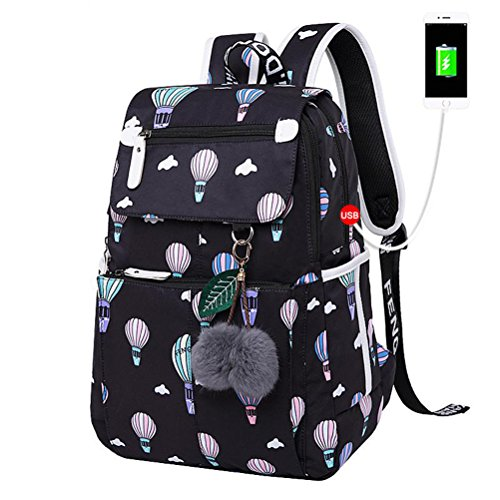Kalakk Emoji School Student Women Backpack Cute Girl Cartoon Best Laptop Backpacks Female School Bag Bagpack by Kalakk