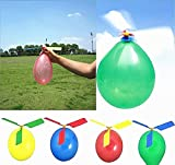 TECH-P Creative Life Balloon Airplane Aircraft Helicopter For Kids Child Children Party Bag Filler Flying Whistling Toy Gift-Pack Of 24