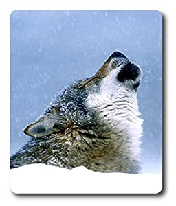 laptop touchpad Wolf Howl Animal PC Custom Mouse Pads / Mouse Mats Case Cover