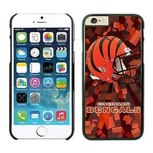 NFL Cincinnati Bengals iPhone 6 Cases 08 Black 4.7 inches67968_54085 iphone 6 cover