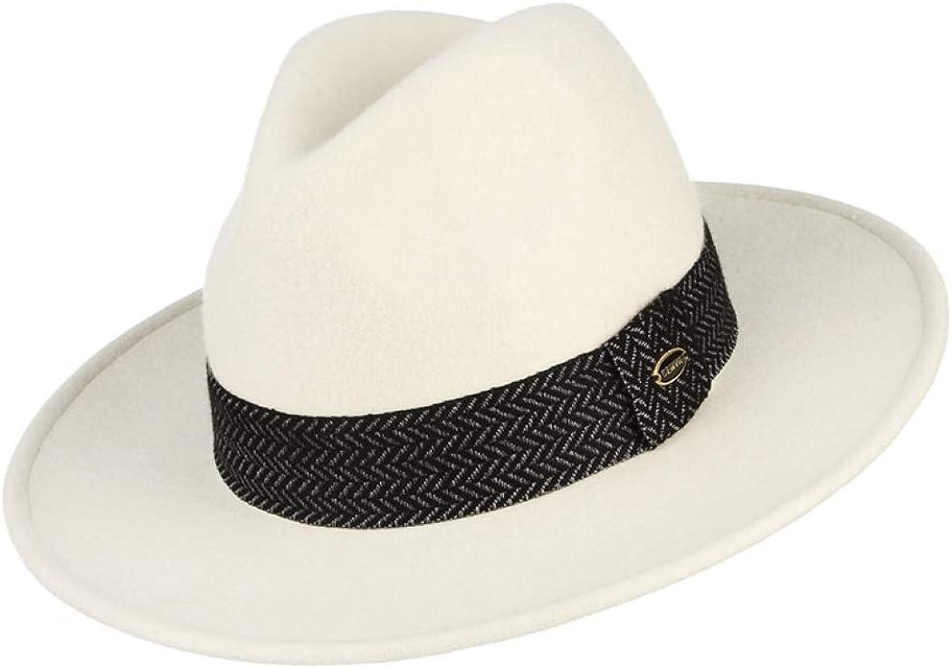 Eric Carl Wool White Hat...