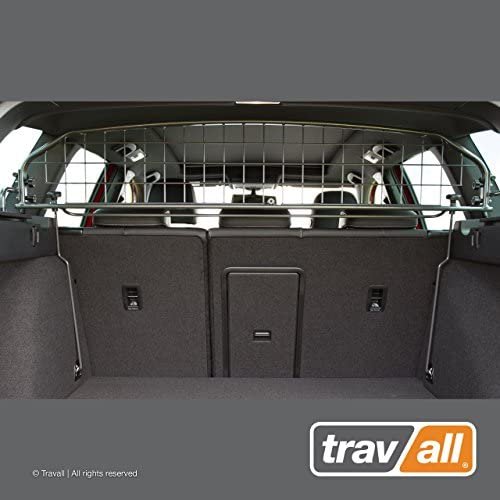 Travall Guard Compatible with Volkswagen Golf Wagon with Sunroof 2013-2019 Golf Alltrack 2015-Current TDG1472 – Rattle-Free Steel Pet Barrier