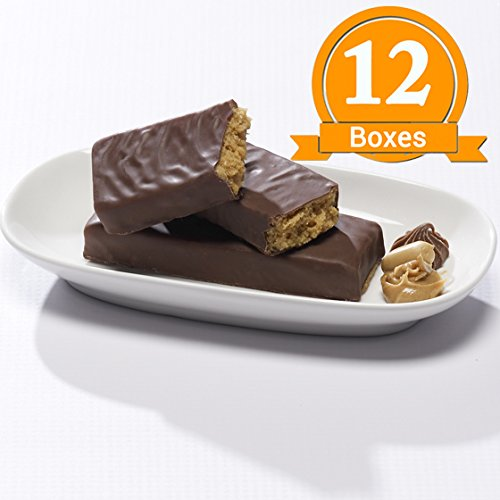 ProtiWise - Peanut Butter Cup High Protein Diet Bars (12 Boxes)