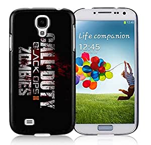 New Unique DIY Antiskid Skin Case For Samsung S4 Call Of Duty 1 Samsung Galaxy S4 Black Phone Case 074