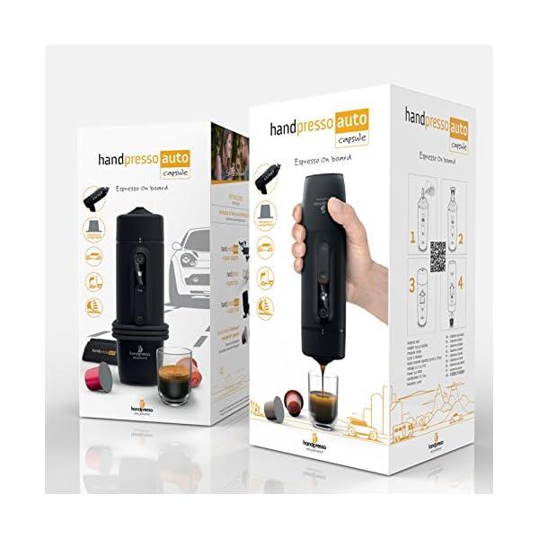 51 HANDPRESSO- Handpresso Auto Capsule 21020 NEUES MODELL Tragbare Espresso-Kaffeemaschine für das Auto, PKW und LKW 12V…