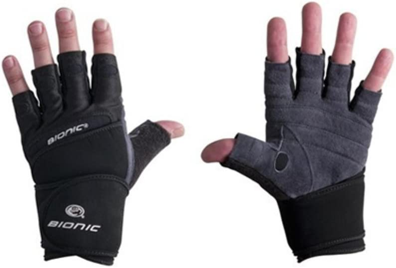 Bionic Mens Wrist Wrap Fitness Gloves
