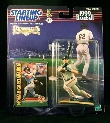 NOMAR GARCIAPARRA / BOSTON RED SOX 1999 MLB Extended Series Starting Lineup Action Figure & Exclusive Collector Trading Card
