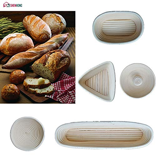 Best Quality - Pastry Blenders - A variety of models Dough Rattan Basket Dough Banneton Brotform Bread Proofing Proving Fermentation Country Baskets - by GTIN - 1 PCs