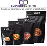 50 Pack - CleverDelights Glossy Black Window