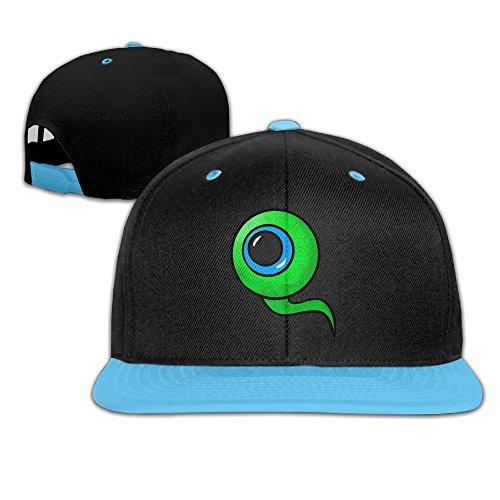 wyuzhen-kids-jacksepticeye-eyeball-hip-hop-snapback-hat-caps-royalblue