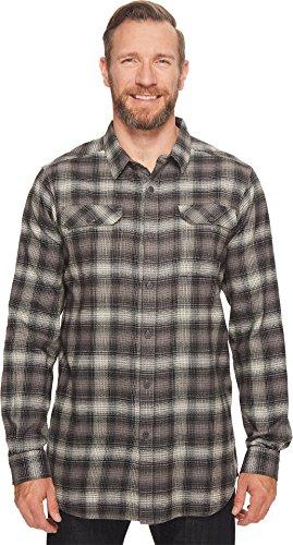 Tall Flannel - Columbia Men's Flare Gun Big & Tall Flannel Iii Long Sleeve, Flint Grey Ombre, 1X