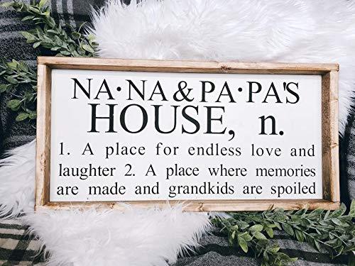 Framed Sign Gigis House Señal de definición Moderna de casa ...