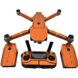 PeleusTech® Fluorescence Stickers Full Set for DJI Mavic Pro Drone Skins Decals Remote Controller Waterproof Stickers - (Fluorescence Orange)