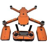 PeleusTech® Fluorescence Stickers Full Set for DJI Mavic Pro Drone Skins Decals Remote Controller Waterproof Stickers - (Fluorescence Orange)