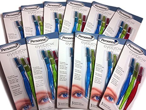 Personna Eyebrow Shaper for Men and Women - 12 Count