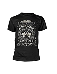 Johnny Cash T Shirt American Rebel new Official Mens Black