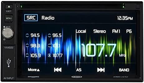 Jensen vx4022artl a/V receptor con DVD, Bluetooth integrado ...
