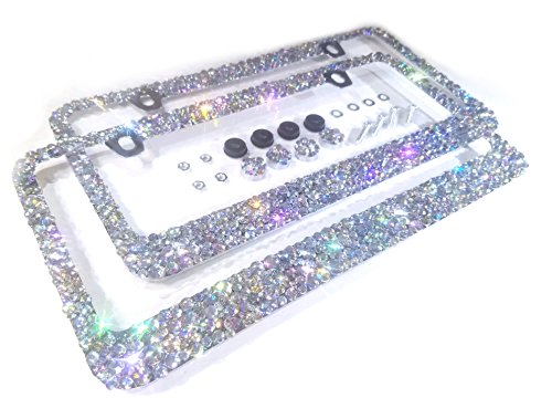 License Crystal Iridescent Sparkly Sparkle product image